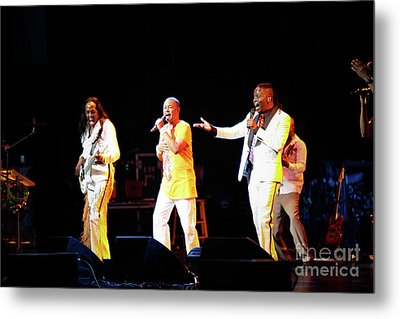 Earth Wind And Fire Metal Print by April Sims