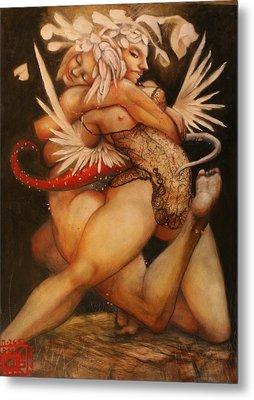 Embrace Of The Virgosis Metal Print by Ralph Nixon Jr