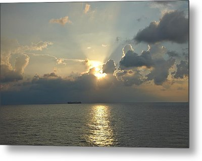 From The Ship Metal Print by Cendrine Marrouat