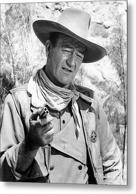 John Wayne (1907-1979) Metal Print by Granger