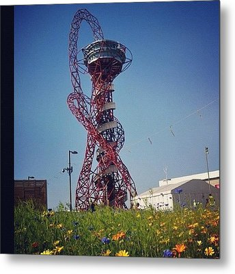 #olympics #london2012 #london Metal Print by Nerys Williams