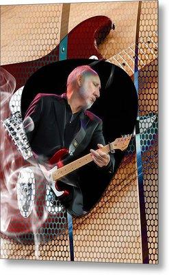 Pete Townshend Art Metal Print by Marvin Blaine