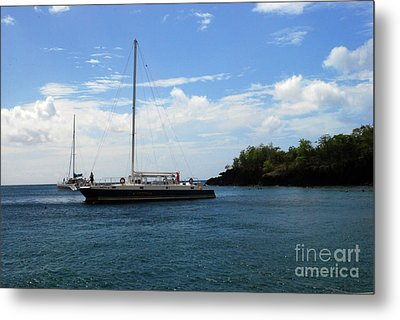 Metal Print featuring the photograph Sail Boat by Gary Wonning