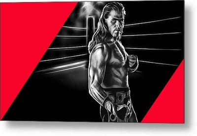 Shawn Michaels Wrestling Collection Metal Print by Marvin Blaine