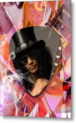 Slash Art Metal Print