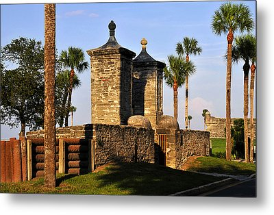The Old City Gates Metal Print by David Lee Thompson