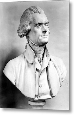 Thomas Jefferson (1743-1826) Metal Print by Granger