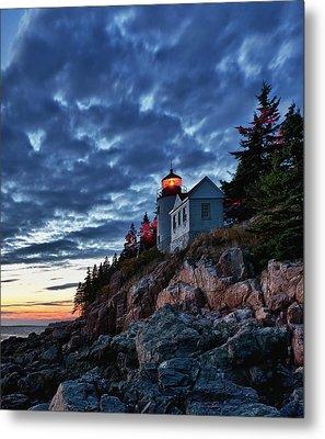 Bass Harbor Lighthouse Metal Print by John Greim
