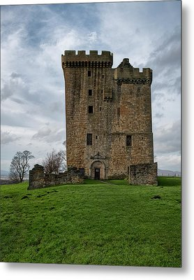 Metal Print featuring the photograph Clackmannan Tower by Jeremy Lavender Photography