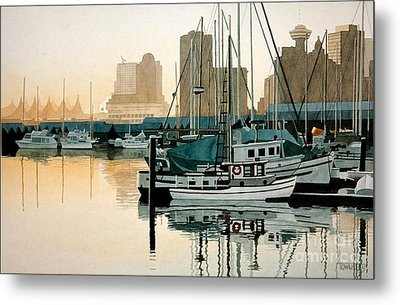 Coal Harbour Metal Print