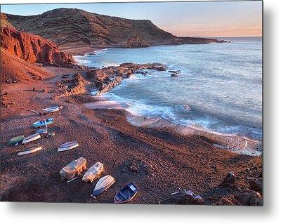El Golfo - Lanzarote Metal Print by Joana Kruse