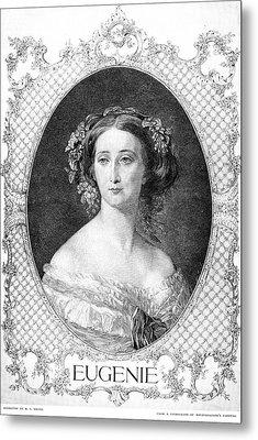 Empress Eugenie Of France Metal Print by Granger