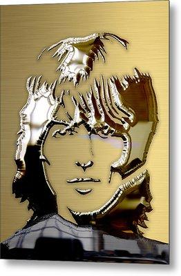 George Harrison Art Metal Print by Marvin Blaine