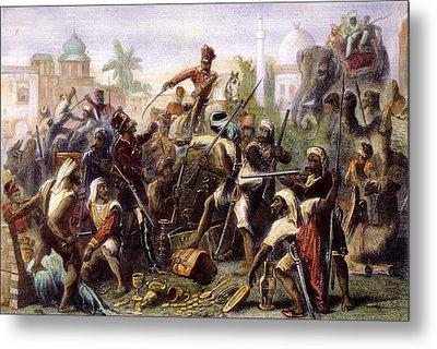 India: Sepoy Mutiny, 1857 Metal Print by Granger
