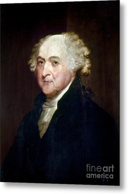 John Adams (1735-1826) Metal Print by Granger