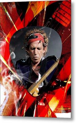 Keith Richards Art Metal Print by Marvin Blaine