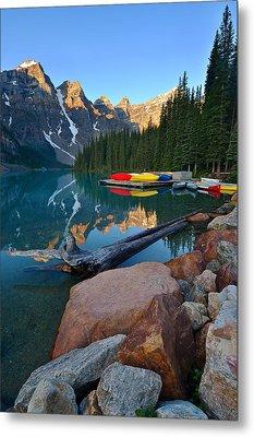 Moraine Lake Metal Print