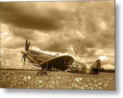 Spitfire Mk Ixb Metal Print