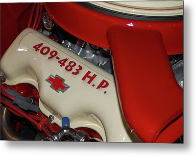 Metal Print featuring the photograph 409-483 by Bill Dutting