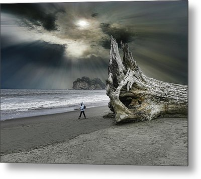 Metal Print featuring the photograph 4392 by Peter Holme III