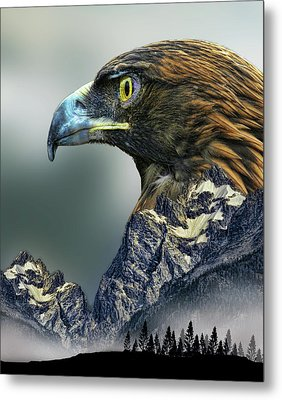 Metal Print featuring the photograph 4397 by Peter Holme III