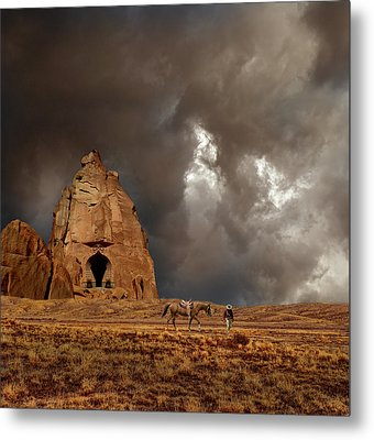 Metal Print featuring the photograph 4398 by Peter Holme III