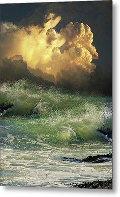 Metal Print featuring the photograph 4449 by Peter Holme III