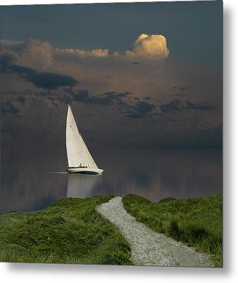 Metal Print featuring the photograph 4456 by Peter Holme III