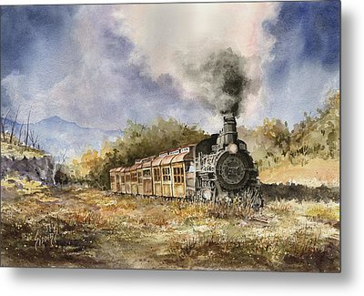 481 From Durango Metal Print by Sam Sidders