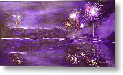 4rh Of July Celebration Metal Print by Terry Honstead