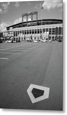 Citi Field - New York Mets Metal Print by Frank Romeo