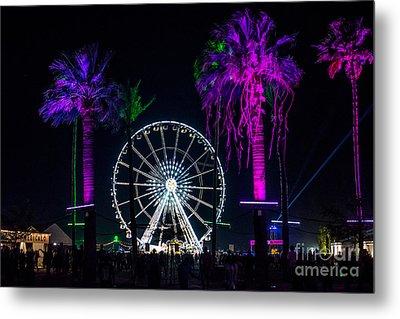 Coachella Music Festival 2015 Metal Print