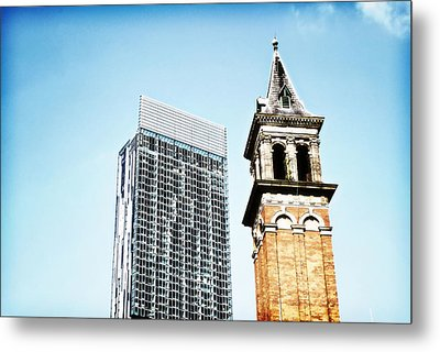 Manchester - Beetham Tower Metal Print by Hristo Hristov