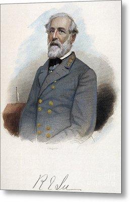 Robert E. Lee (1807-1870) Metal Print by Granger