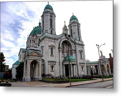 The Basilica Metal Print by Michael Frank Jr