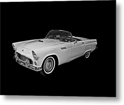 Metal Print featuring the photograph 55 T Bird by Gary Smith