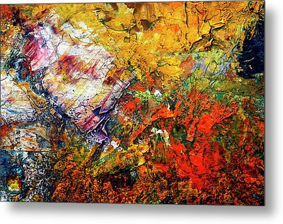 Abstract Metal Print by Michal Boubin