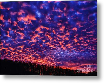 Metal Print featuring the photograph Appalachian Sunset Afterglow by Thomas R Fletcher