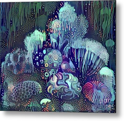 Beautiful Undersea Coral Metal Print