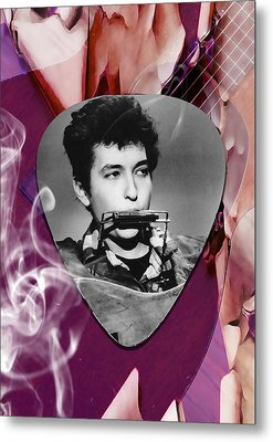 Bob Dylan Art Metal Print by Marvin Blaine