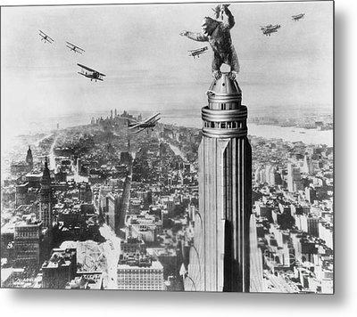 King Kong, 1933 Metal Print by Granger