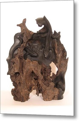 Lizards Metal Print by Thu Nguyen