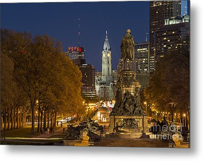 Philadelphia Skyline Metal Print by John Greim