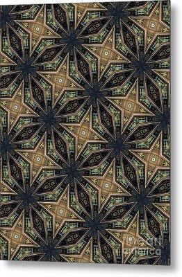 Unique Design Pattern Metal Print