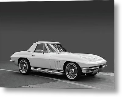 65 Corvette Roadster Metal Print by Bill Dutting