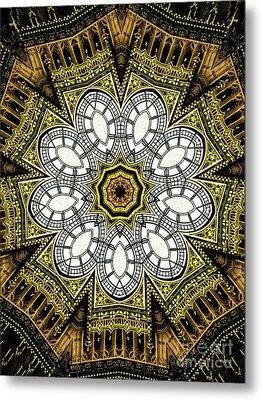 Unique Design Pattern Metal Print by Amy Cicconi