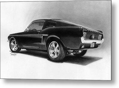 '68 Fast Back Metal Print by Tim Dangaran
