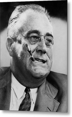 President Franklin D. Roosevelt Metal Print by Everett