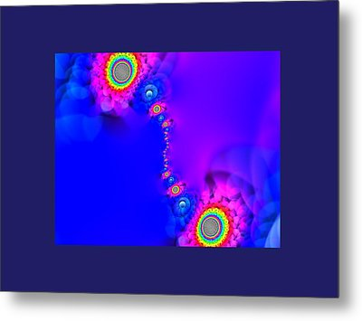 Flowers Metal Print by Contemporary Art
