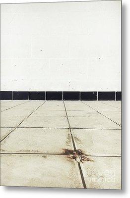 Old Tiles Metal Print by Tom Gowanlock